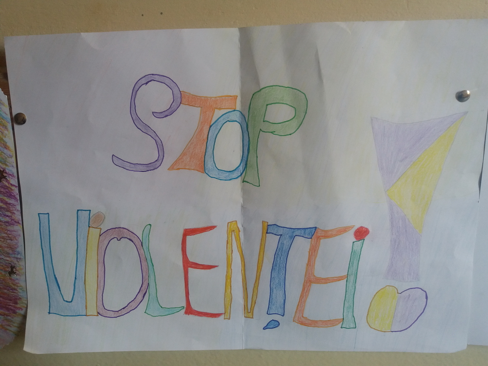 Expozitie De Desene Cu Tema Stop Violentei